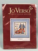 Jo Verso - Shoe Sampler - counted cross stitch kit (JV04) 24x24cm Nursery Boot