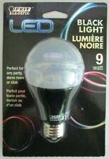 Feit Electric 9-Watt Black Light LED Bulb Non-Dimmable A19 Party Light