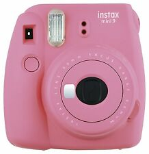 Fuji Instax Mini 9 Flamingo Rosa / Pink Sofortbildkamera Mini9 Sofortbild Kamera