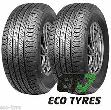 2X Tyres 245 65 R17 111H XL House Brand SUV E C 71dB
