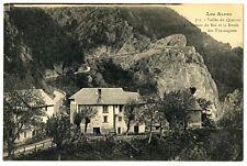 CPA 05 Hautes-Alpes Vallée du Queyras Maison du Roi et Route des Tourniquets