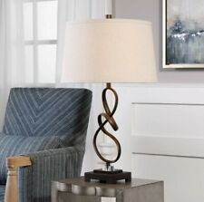 Uttermost 27530-1 Tenley 1 Light 27.25 Inch Tall Table Lamp - Crystal Accents