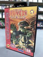 Dinosaurs for Hire Sega Genesis Cart & Box No Manual -- S2G --