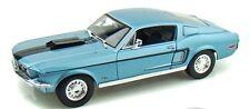 FORD MUSTANG GT COBRA JET Bleu 1968 1/18 - 31167 MAISTO