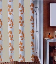 Cortina de ducha Tierra beige 180 x 200 cm. textiles de Alta Calidad