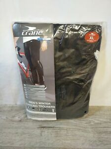 """Crane Mens Winter Cycling Trousers XL Extra Large (38"""" - 40"""" Waist) BNWT FREE PP"""