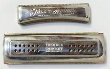 TREMELO Concert Harmonica (Wiener) & JOS FISHER Harmonica Made Germany 228