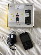 BlackBerry Curve 8530 - Black (Sprint) Smartphone Track Pad Charger Box