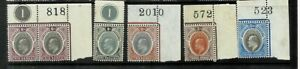 southern Nigeria ke small lot of 6 stamps mint
