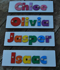 Personalised Jigsaw Name Puzzle with FREE Engraving