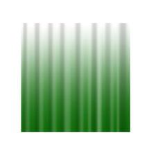 Plain Shower Curtains Polyester Bathroom Hanging Panel 180x180cm,Green