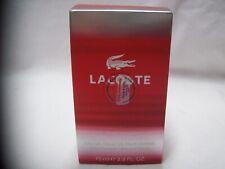 100% Authentic Lacoste Red Style In Play by Lacoste Eau De Toilette Men's 2.5 oz