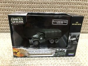 Unimax Forces Of Valor 1:72 US 2.5 Ton Cargo Truck, Normandy 1944, No. 85055
