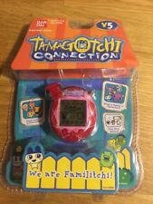 L@@K!! TAMAGOTCHI CONNECTION V5 Familitchi Red Gem New Item #26004