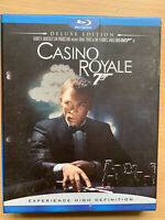 Casino Royale Blu-ray 2006 James Bond Film 2-Disc Deluxe Edition