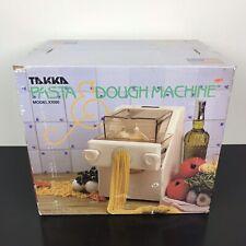 Brand New TAKKA by CTC Pasta Express Pasta and Dough Machine Model X1000