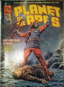 Curtis comic magazine 1975, Planet of the Apes #11