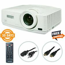 Mitsubishi WD570U DLP Gaming Projector HD HDMI w/Remote bundle (3500 Lumens)