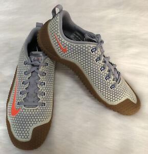 New Nike Free Trainer 1.0 Training Running Men 10 M Gray Blue 807436-060 New E11
