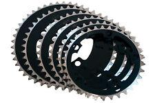 Hi Tech BMX Chainring - Alloy - 110BCD - 5H - Black - Various Sizes