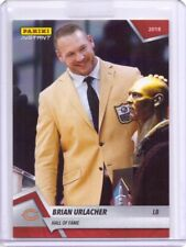 2018 Panini Instant #12 Brian Urlacher Hall of Fame Football Card - Only 81 made