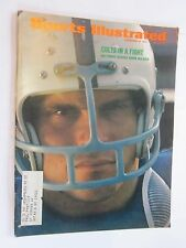 1971 Sports Illustrated Magazine November 8 Norm Bulaich Baltimore Colts rusher