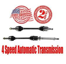 New Front Cv Shaft Axles for Nissan Versa 1.8L 4 Speed A/T 2007-2012 ONLY!!!