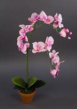 Orchidee 65cm rosa-pink DP Kunstblumen künstliche Blumen Orchideen Kunstpflanzen