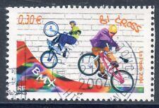 STAMP / TIMBRE FRANCE OBLITERE N° 3696  SPORT DE GLISSE / BICROSS