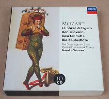 Coffret 10 CD 4 Opéras de Mozart - Arnold Östman - decca
