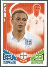 Match Attax ataque de la Copa del Mundo 2010 Inglaterra-Glen Johnson Edición Limitada