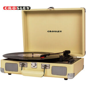 Crosley CR8005F-FW Cruiser Plus Portable w/ Bluetooth Out Turntable - Fawn Yello
