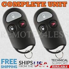 2 Remote for 1999-2002 Mercury Villager Keyless Entry