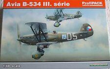 Eduard 1/48 EDK8191 Avia B.534 Serie Iii Profipack