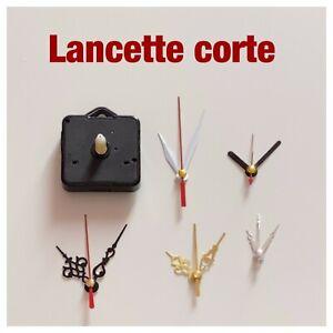 Meccanismo orologio da parete piccolo CORTO Silenzioso ricambi orologi lancette