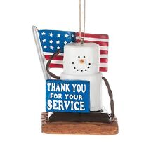 Midwest of Cannon Falls Original Thank you for your Service S'more Orn. Fs Usa