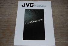 JVC Super Digifine RX1010VTN XLZ1010TN AX-Z1010TN TDV1010TN Original Catalogue