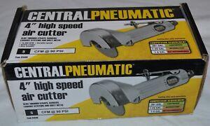 Central Pneumatic 4 inch high speed air cutter in box