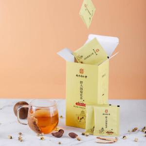 【同仁堂】胖大海菊花茶罗汉果甘草金银花枇杷叶 保护嗓子茶 5g*30包 便携小包装 Chinese Functional Tea