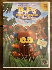 BJs Teddy Bear Club and Bible Stories: Volume 3 & 4 (DVD, 2006) Factory Sealed