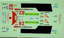 decals 1/43: Alba AR3 Le Mans 1982 N°82