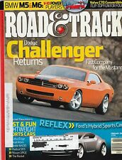 Road & Track Feb 2006 - Dodge Challenger - Ford Flex - Ariel Atom - Lotus Exige