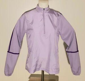 Nike Golf Women's Stretch 1/4 Zip Windbreaker Jacket 627189 Size M