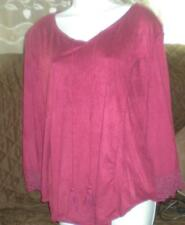 SIGNATURE STUDIO POLYESTER/SPANDEX EXTREMELY SOFT PULLOVER TOP NWOT 2X BEAUTIFUL