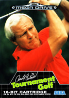 Arnold Palmer Tournament Golf - SEGA Mega Drive (Complete & Like New Condition)