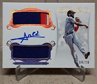 2018 Flawless AMED ROSARIO Autograph Rookie Dual Patches Gold 4/10