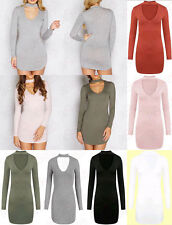 Women's Viscose Long Sleeve Clubwear Stretch, Bodycon Dresses