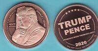 Copper Round   MINI MINTAGE  #11  Silver Shield  2017 ENSO  1 oz
