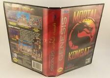 Mortal Kombat (Sega Genesis, 1993) Complete Cleaned Tested