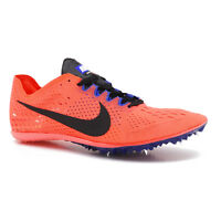 New Nike Zoom Victory 3 Mens Track Field Spikes Mid Distance Racing Shoes Orange